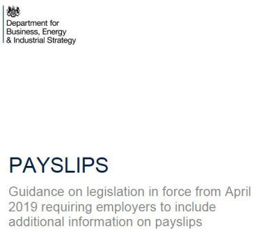 payslips legislation