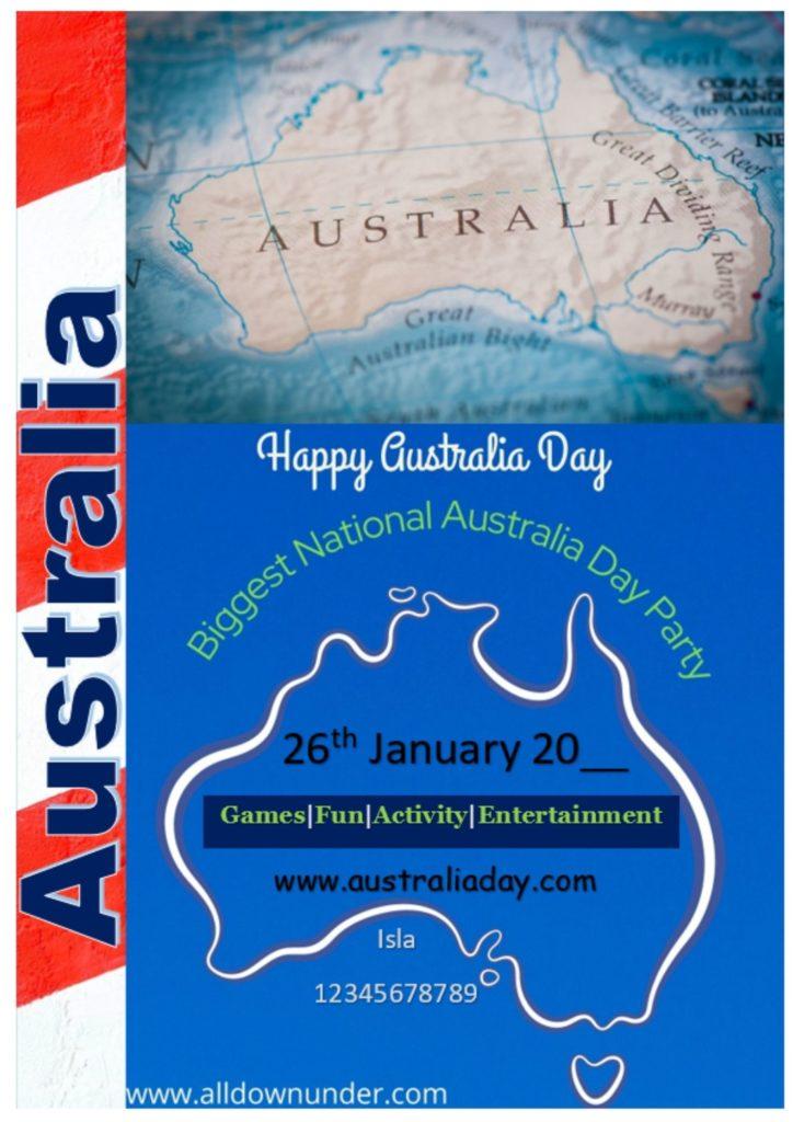 National Australia Day Party