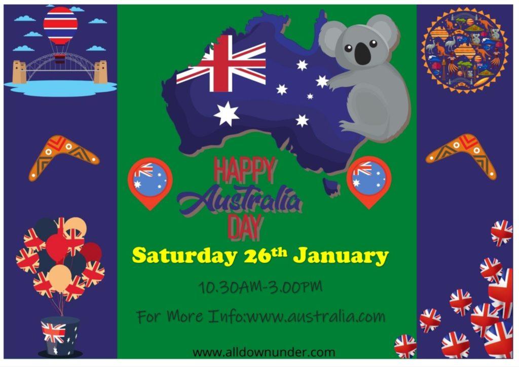 Celebration For australia day